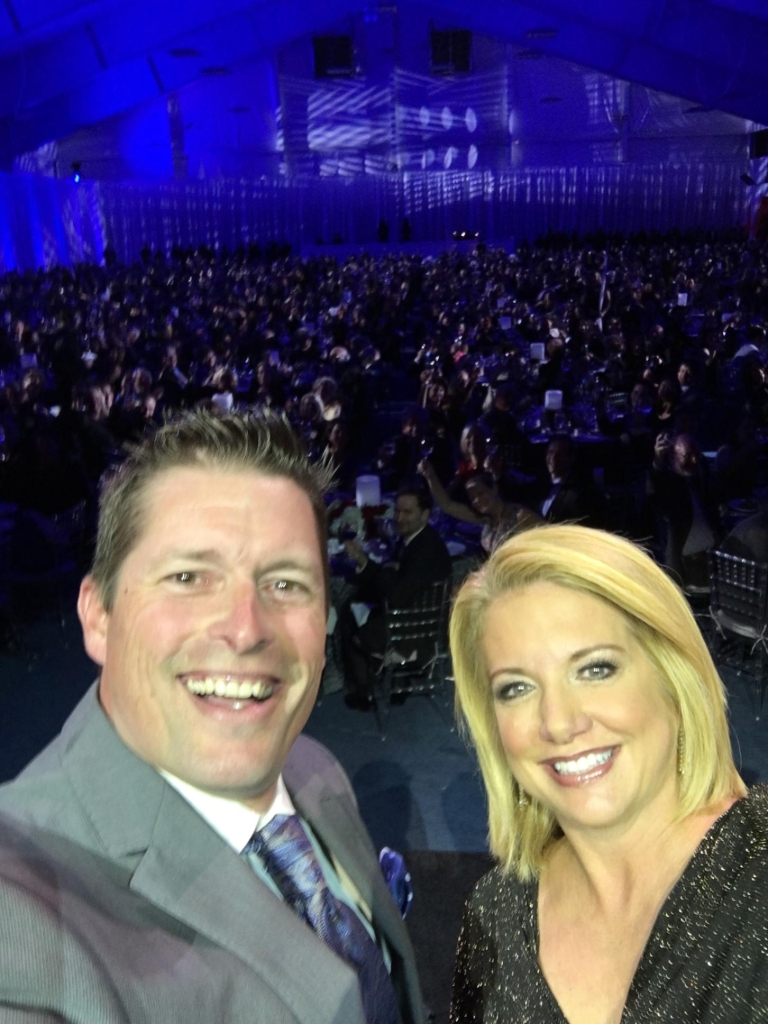 Tracy Davidson Selfie at Philly Fights Cancer 2015