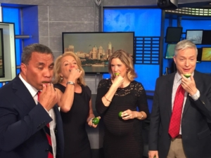 NBC Philly takes Lyme Challenge
