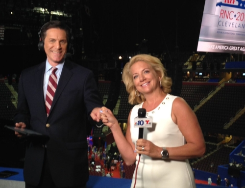 Covering the RNC with NBC Philadelphia